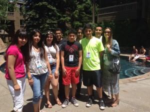 CEC Students at Aspen Institute July, 2014