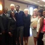 Principal Susan Doyle, BECHS Students meet the Trustees